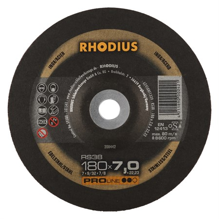 Navrondell 180x7,0 RS38 Rhodius 10st/frp